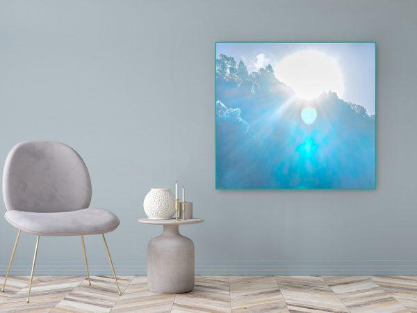 Acrylglasbild Motiv Begeisterung 122x111cm