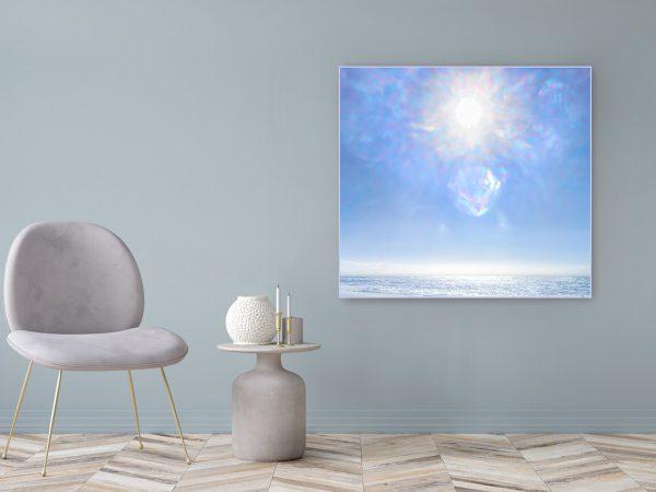Acrylglasbild Motiv Bewusstsein 122x111cm