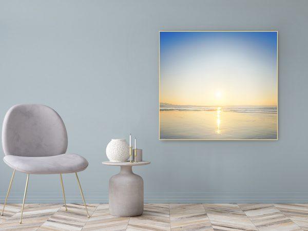 Acrylglasbild Motiv Dankbarkeit 122x111cm