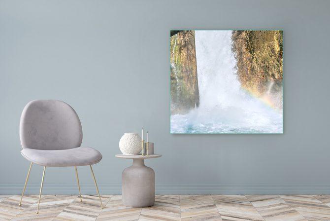 Acrylglasbild Motiv Freiheit 122x111cm