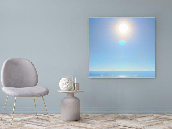 Acrylglasbild Motiv Geist 122x111cm