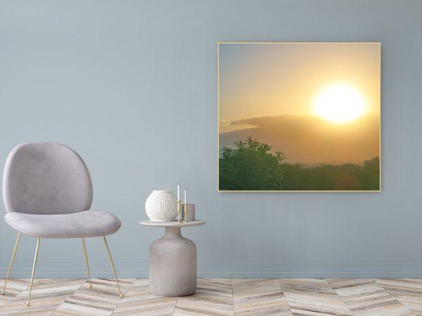 Acrylglasbild Motiv Geschenk 122x111cm