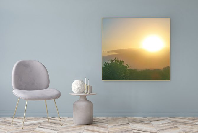 Acrylic Glass Picture Gift 122x111cm