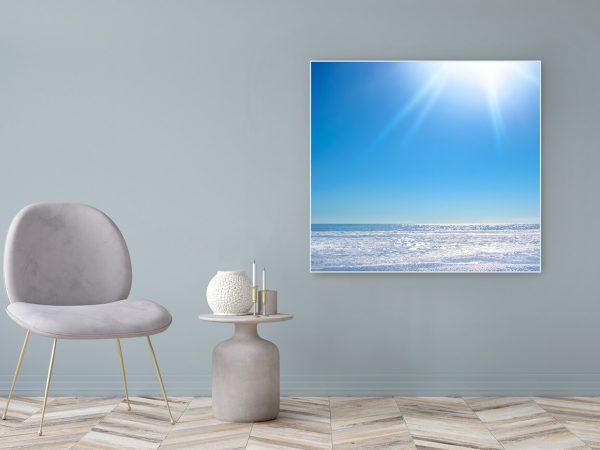 Acrylglasbild Motiv Glück 122x111cm