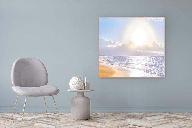 Acrylglasbild Motiv Ich bin 122x111cm