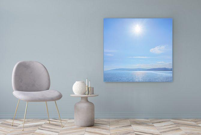 Acrylglasbild Motiv Leben 122x111cm