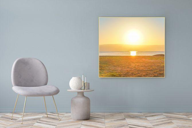 Acrylglasbild Motiv Licht 122x111cm