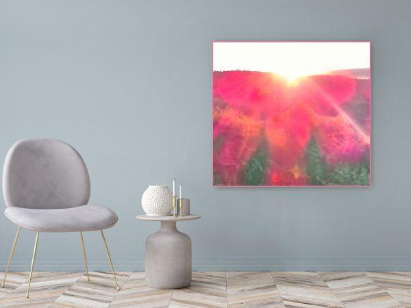 Acrylglasbild Motiv Liebe 122x111cm