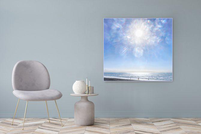 Acrylglasbild Motiv Menschlichkeit 122x111cm