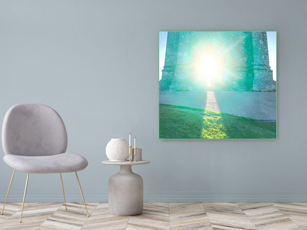 Acrylic Glass Picture Motif New Beginning 122x111cm