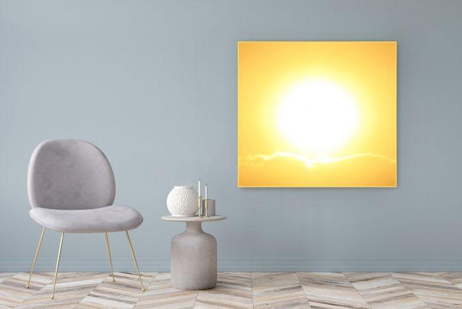 Acrylglasbild Motiv quelle 122x111cm
