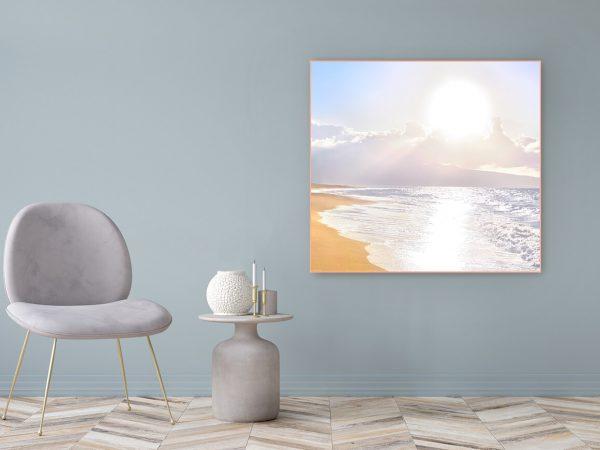 Acrylglasbild Motiv Sonnenkind 122x111cm
