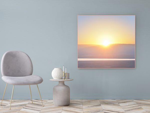 Acrylglasbild Motiv Vertrauen 122x111cm