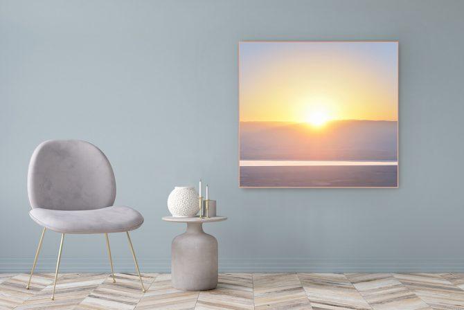 Acrylic Glass Picture Motif Trust 122x111cm