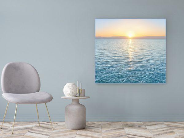 Acrylglasbild Motiv Wahrheit 122x111cm