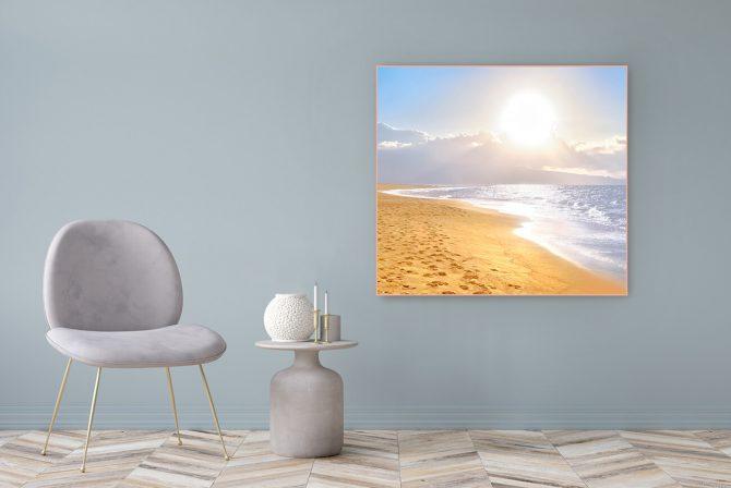 Acrylglasbild Motiv Wir Sind 122x111cm