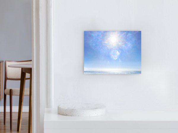 Leinwandbild Motiv Bewusstheit 44x33cm Querformat