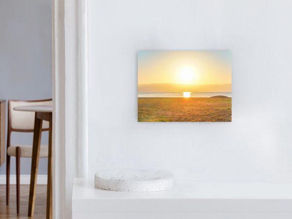 Leinwandbild Motiv Licht 44x33cm Querformat