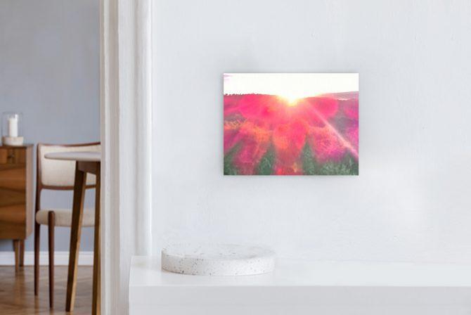 Leinwandbild Motiv Liebe 44x33cm Querformat
