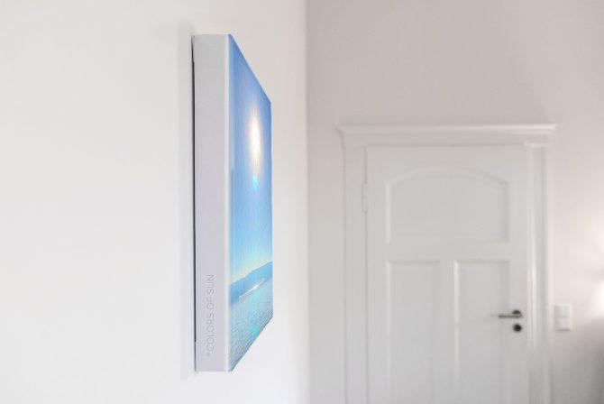Leinwandbild Motiv Geist 33x44 cm hoch Detail