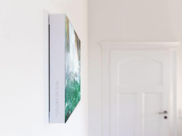 Leinwandbild Motiv Reinheit 44x33 cm quer Detail