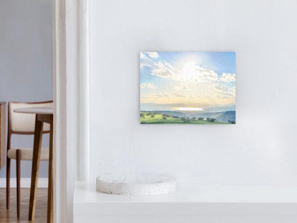 Leinwandbild Motiv Paradies 44x33cm Querformat