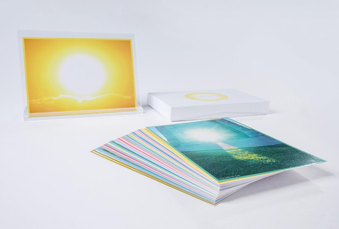My Card mit Acrylständer für den Schreibtisch