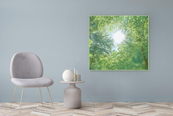 """Acrylglasbild Motiv """"Harmonie"""" 122x111cm"""