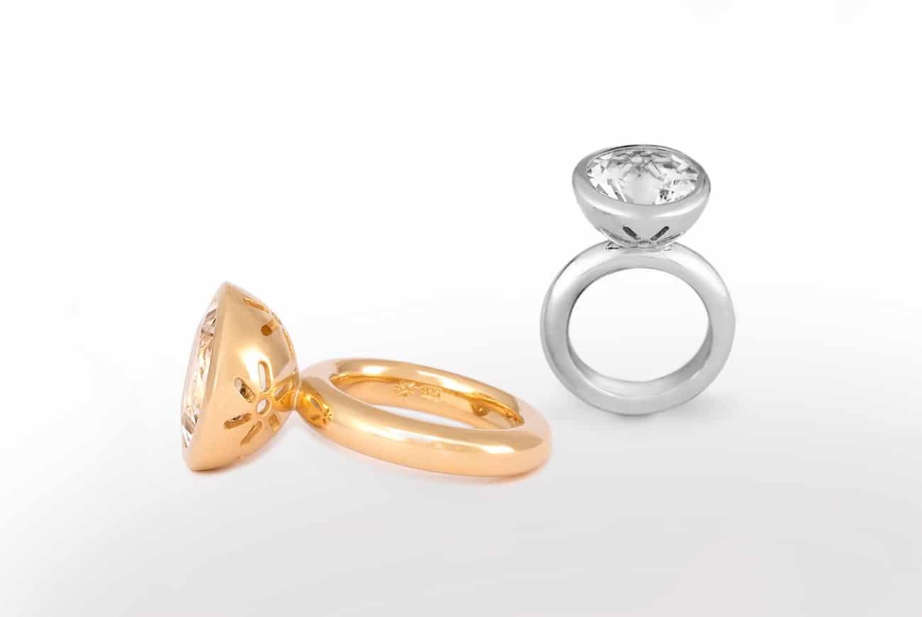 Produktübersicht Ringe Gold Silber